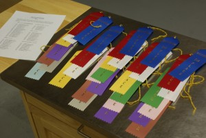 Ribbons for Salle competition