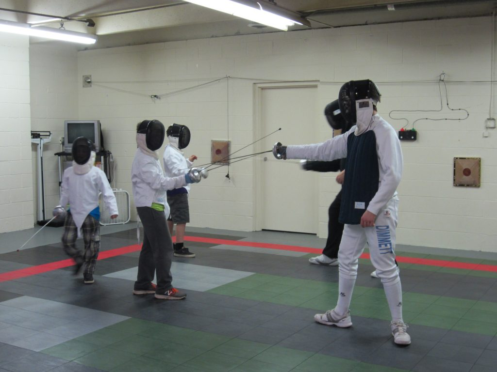 Musketeer Epee class
