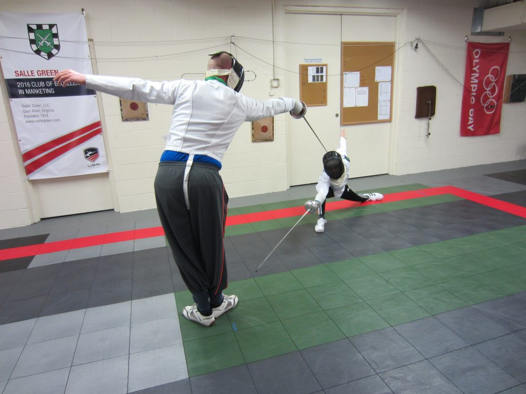 Lancet Epee fencing