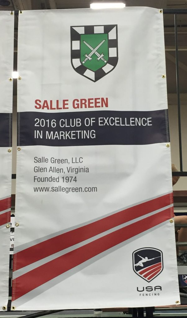 Club of Excellence banner